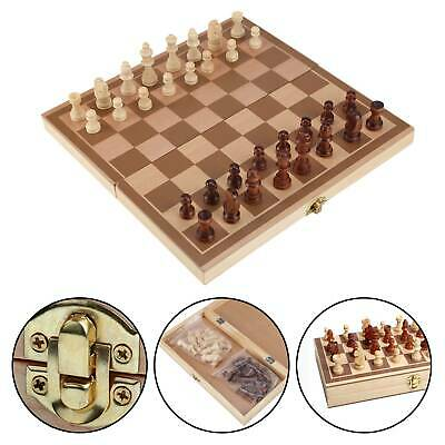 Folding wooden Chess set High Quality standard Chess Set Wooden