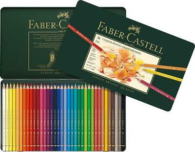 Faber-Castell Polychromos Coloured Pencils in Tin (36pk)
