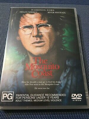 The Mosquito Coast - HARRISON FORD/HELEN MIRREN - PAL R4  - *FREE STD POST
