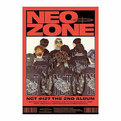 NCT 127 - The 2nd Album - Neo Zone  [C Ver.] Full Package + Gift