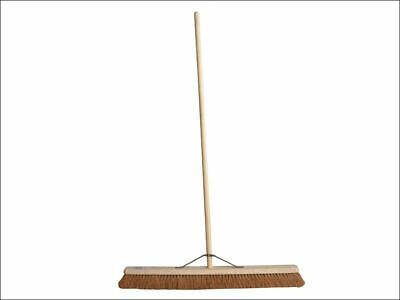 Broom Soft Coco 90cm (36in) + Handle & Stay FAIBRCOCO36H