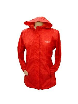 Regatta Girls Lightweight Breathable Waterproof Jacket Bedazzled Coral