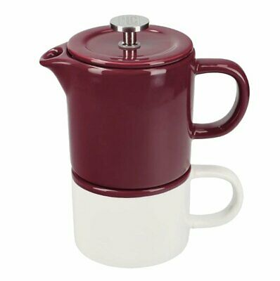La Cafetiere BARCELONA French Press COFFEE for ONE PLUM Purple