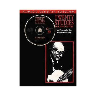 Segovia Guitar Bundle Pack Includes Segovia 20 Studies for the Guitar  000123286