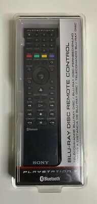 Sony Playstation 3 PS3 Bluray remote control Official UK New Sealed Box