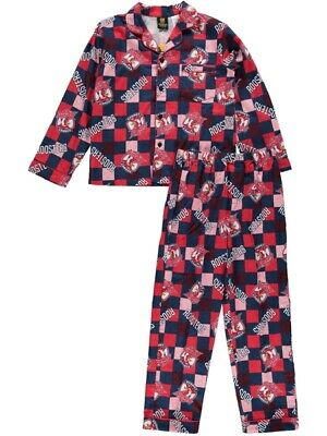 NEW ROOSTERS Nrl Toddlers Flannel Pjs by Best&Less
