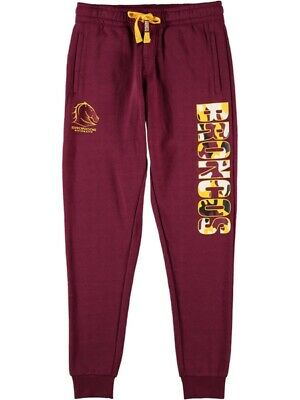 NEW BRONCOS Nrl Youth Track Pant by Best&Less