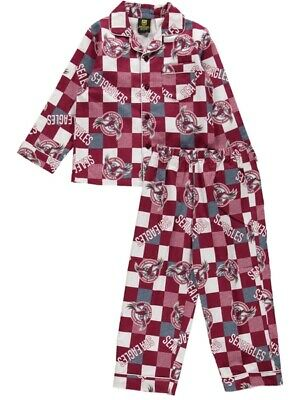 NEW SEA EAGLES Nrl Youth Flannel Pjs by Best&Less