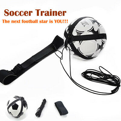 Football Trainer Soccer Ball Practice Belt Training Equipment Sports Assistance#