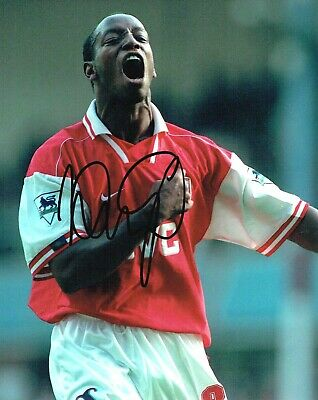 Ian Wright SIGNED Autograph Arsenal FC Football Legend 10x8 Photo AFTAL COA