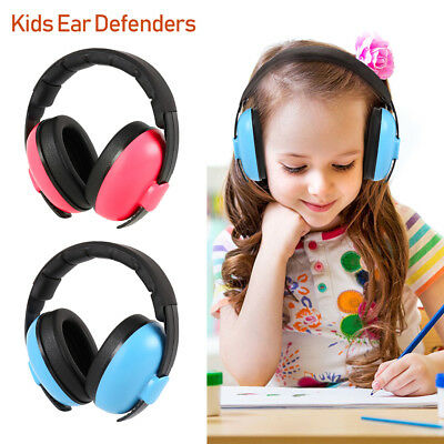 Children Ear Protection Safety Ear Muffs 25dB NRR Noise Reduction Earmuffs AU !
