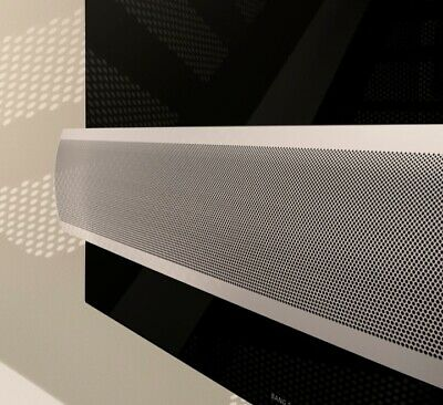 """Bang Olufsen Aluminum Grill for Sound Bar BeoVision Eclipse 65"""" TV"""
