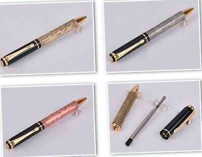 Jinhao Ballpoint Pen Chinese Dragon The Eight Horses Gold/Silver/Rose Heavy Feel