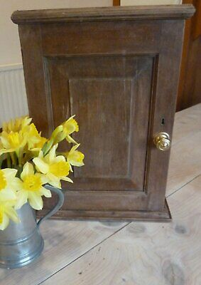 Small antique vintage country cupboard early 20th century 18 inches