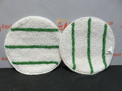 "Tiger Carpet Bonnet 17"" Commercial Carpet Cleaning Pad New Lot of 2"