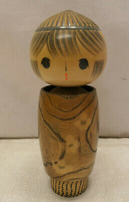 Vintage Kokeshi Creative Style Wooden Japanese Doll Vintage #625