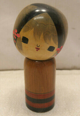 Vintage Kokeshi Creative Style Wooden Japanese Doll Vintage #626