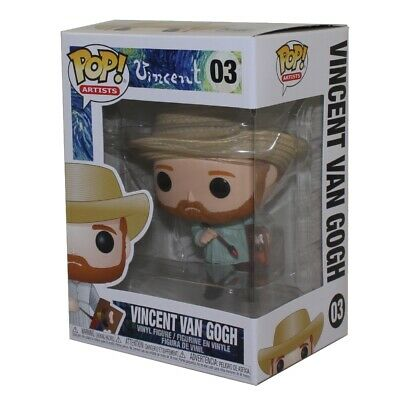 Funko POP! Artists Vinyl Figure - VINCENT VAN GOGH #03 - New in Box