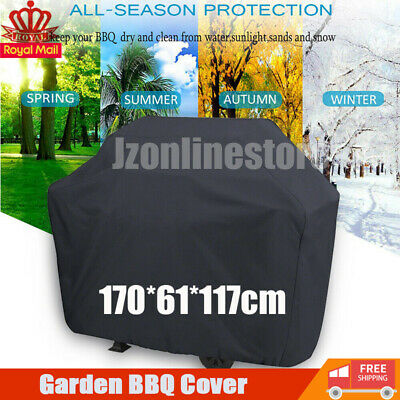 Extra Large XL BBQ Cover Waterproof Heavy Duty Garden Barbecue Grill 170CM UK