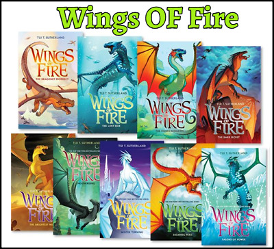 Wings of Fire 1-12 Books Set Collection By Tui T. Sutherland (P.D.F/E.P.U.B)