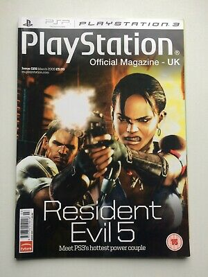 PLAYSTATION Official Magazine UK March 2009 Resident Evil 5