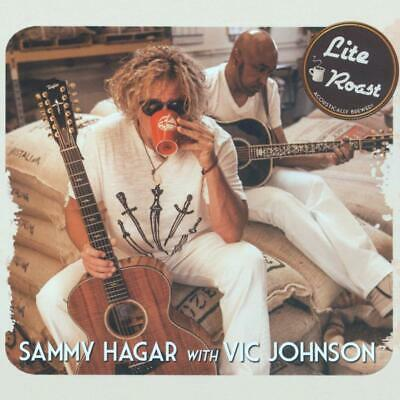 SAMMY HAGAR with VIC JOHNSON LITE ROAST CD (Released March 6th 2020)