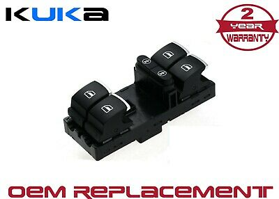 7P6959857 Electric Window Regulator Switch For Vw - Touareg, Touran, Sharan
