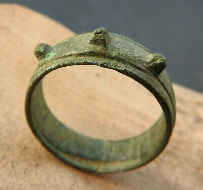 Spiked Viking Ring of Kievan Rus 11-14 AD size 19mm