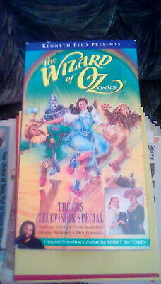 The Wizard Of Oz On Ice - The CBS Television Special (1996) VHS skating dancing