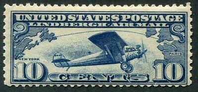 US   C10  Beautiful  Mint  NEVER  Hinged AIR  MAIL  UPTOWN