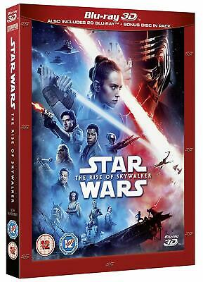 STAR WARS: THE RISE OF SKYWALKER 3D + 2D Blu-ray *PRE-ORDER, Slipcover Included