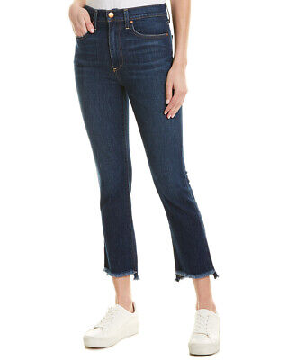 Alice + Olivia Good High-Rise Skinny Leg Women's Blue 24