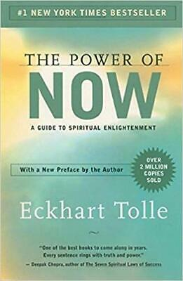 The Power of Now: A Guide to Spiritual Enlightenment by Eckhart Tolle (P.D.F)