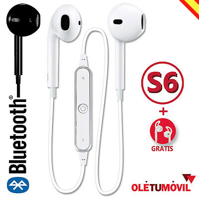 Auriculares Bluetooth S6 Inalámbricos Deportivos Oletumovil