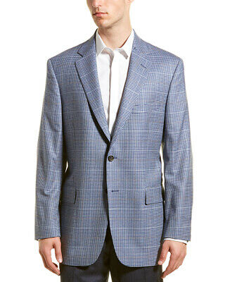 Brooks Brothers Madison Fit Wool Sport Coat Blue Men's