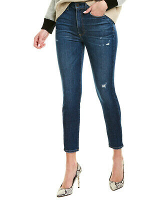 Alice + Olivia Good High Rise Born To Run Ankle Skinny Jean Women's