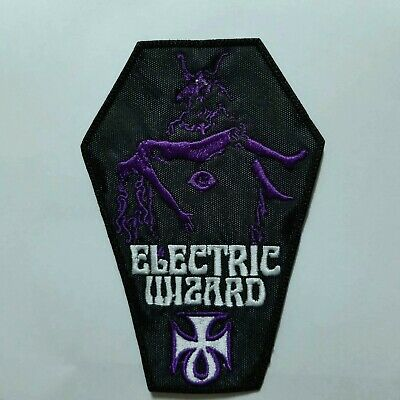 Electric Wizard  Coffin Embroidered Patch