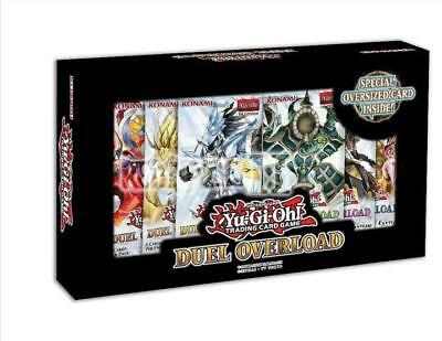 Yugioh Duel Overload Booster New Sealed