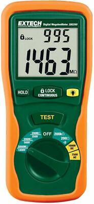 ExTech 380260 Autoranging Digital Megohmmeter 1000V Digital Tester Large Display