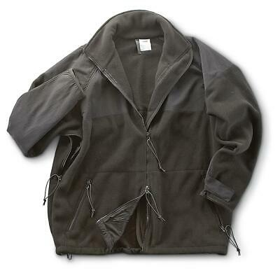 Military Surplus Long Sleeve Shirt Jacket with U.S.Marine Patches