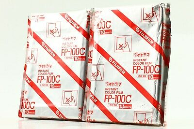 [New]  Fujifilm FP-100C (2006/07, 2006/09) Instant Film 2Packs  From Japan #0014