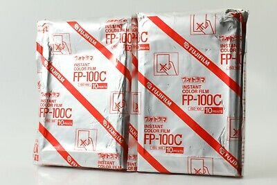 [New]  Fujifilm FP-100C (2006/09) Instant Film 2Packs  From Japan #0015
