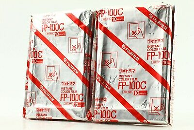 [New]  Fujifilm FP-100C (2006/10) Instant Film 2Packs  From Japan #0017