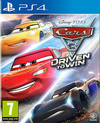 Cars 3 Driven to Win (PS4) *New & Sealed*