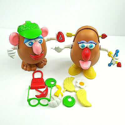 Mr. And Mrs. Potato Head 1985 With Accessories Mixed Lot Collectible Gift