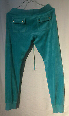 USA* Original JUICY COUTURE * Sport Hose * Türkis/Grün * Größe S