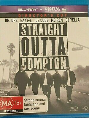 Straight Outta Compton - Director's Cut Blu Ray Like New