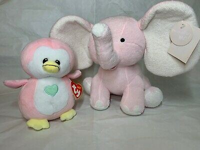 TY BABY PENNY THE PINK PENGUIN  BRAND NEW 15cm BNWT