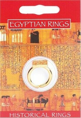 Egyptian Priest Gold Plated Pewter Ring