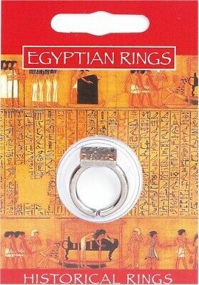 Egyptian Priest Silver Pewter Ring
